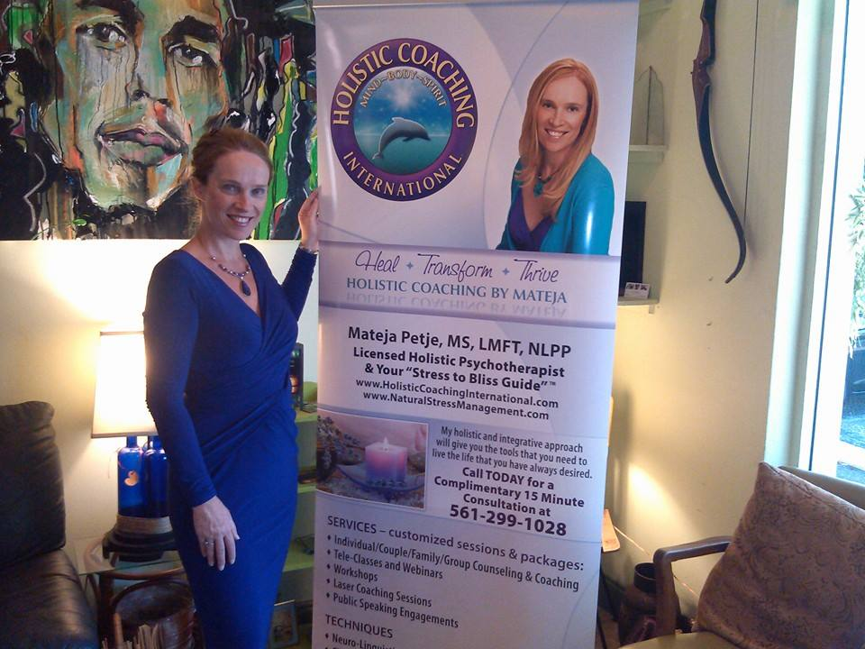 Mateja Petje Holistic Coaching International Psychotherapy