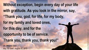 Gratitude Goodwill Bliss