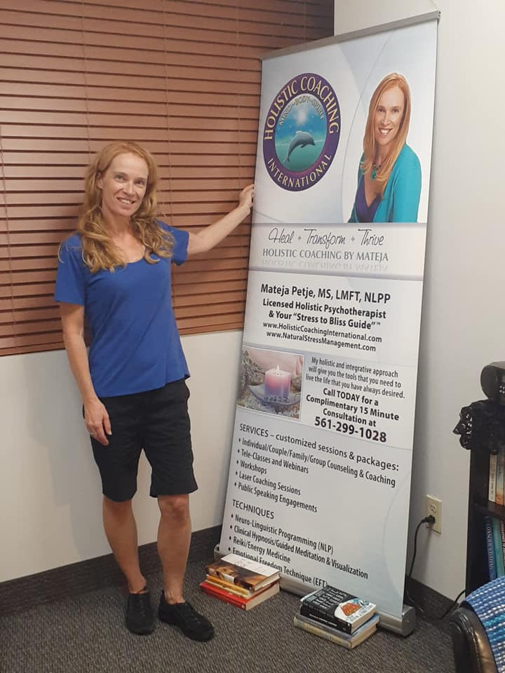 Mateja Petje Boca Raton Delray holistic therapist near me online therapy life coach telemedicine PTSD Trauma Anxiety Depressed